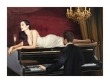 Sweetest Song Giclee Print by Pierre Benson
