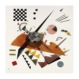 Orange Giclée-Druck von Wassily Kandinsky