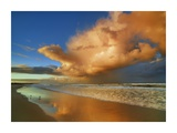 Sunset on the ocean, New South Wales, Australia Giclee Print by Frank Krahmer
