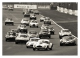 Silverstone Classic Race Giclee Print by  Gasoline Images