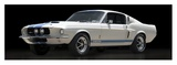 Shelby GT500 Giclee Print by  Gasoline Images