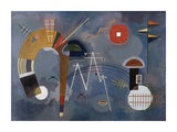 Round and Pointed Giclee Print by Wassily Kandinsky
