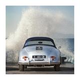 Ocean Waves Breaking on Vintage Beauties (detail 2) Giclee Print by  Gasoline Images