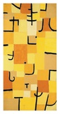 Signs in Yellow Giclee Print by Paul Klee