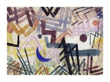 The Power of Play in a Lech Landscape Giclee Print by Paul Klee