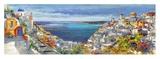 Santorini Giclee Print by Luigi Florio