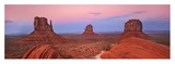 Mittens in Monument Valley, Arizona Giclee Print by Frank Krahmer