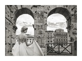 From the Colosseum, Rome Giclee Print by  Haute Photo Collection