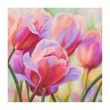 Tulips in Wonderland I Giclee Print by Cynthia Ann