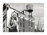 Billboards in Manhattan Number 1 Giclee Print by Julian Lauren