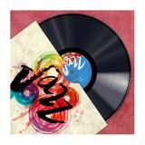 Vinyl Club, Jazz Giclee Print by Steven Hill