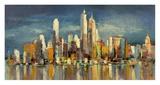 New York, riflessi del mattino Giclee Print by Luigi Florio