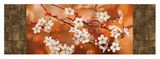 Orange Sakura Giclee Print by Jenny Thomlinson