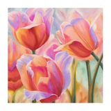 Tulips in Wonderland II Giclee Print by Cynthia Ann