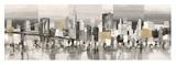 Manhattan & Brooklyn Bridge Giclee Print by Luigi Florio