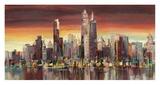 Sera su New York Giclee Print by Luigi Florio