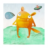 Alien Friend Number 4 Giclee Print by Skip Teller