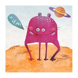 Alien Friend Number 2 Giclee Print by Skip Teller