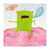 Alien Friend Number 1 Giclee Print by Skip Teller