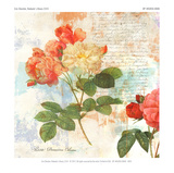 Redoute's Roses 2.0 II Giclee Print by Eric Chestier