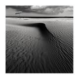 Umbrella On The Beach Giclee Print by Wim Schuurmans