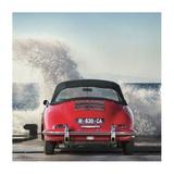 Ocean Waves Breaking on Vintage Beauties (detail 1) Giclee Print by  Gasoline Images