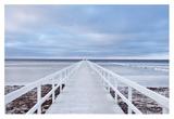 The Bridge Giclée-tryk af Jacek Oleksinski