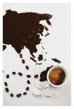 The Best Coffee In The World Giclee Print by Dina Belenko