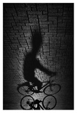 Shadow Bike Giclee Print by Antonio Grambone