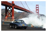 Under the Golden Gate Bridge, San Francisco Giclee Print by  Gasoline Images