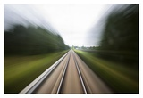 Next Stop. Giclee Print by Marius Noreger