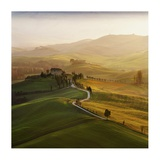 Val D'Orcia Giclee Print by Jarek Pawlak