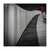 Woman In Red Giclee Print by Marco Antonio