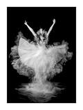 Powder Burst Lámina giclée por Pauline Pentony Ba