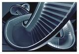 Blue Stair Giclee Print by Henk Van Maastricht