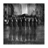 Girls In The Rain Giclee Print by Antonyus Bunjamin (Abe)