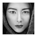 Portrait Of Icha Giclee Print by Arief Siswandhono
