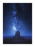 Monument Milkyway Giclee Print by Juan Pablo De