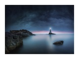 End Of Dogwatch Giclee Print by Veselin Atanasov