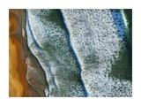Curl Curl Aerial Giclee Print by Ignacio Palacios
