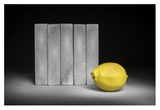 Yellow Giclee Print by Christophe Verot