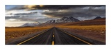 Yellow Road Giclee Print by Adhemar Duro