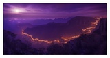 Lights Of The Night Giclee Print by Raphael Sombrio