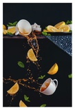 Tea From The Top Shelf Giclee Print by Dina Belenko