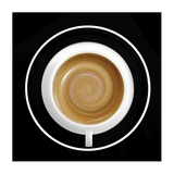 06:00 Enjoy A Coffee Super Cell Giclee Print by Udo Dittmann