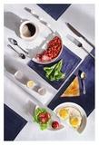 Suprematic Meal: English Breakfast Giclee Print by Dina Belenko