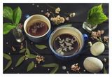 Gardener's Tea Giclee Print by Dina Belenko