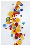 Suprematic Teatime Giclee Print by Dina Belenko