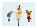 Making Fruit Salad Giclee Print by Dina Belenko
