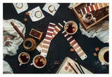 Shades Of Coffee Giclee Print by Dina Belenko